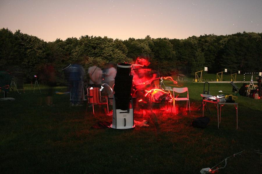 Astronomický kemp 2. časť